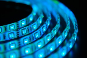 Ruban led bleu