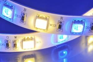 Gros plan sur les ampoules LED